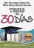 img - for Tesis en 30 dias  (Spanish Edition) book / textbook / text book