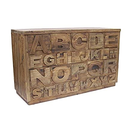 Buffet in legno naturale ABC