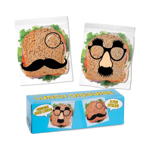 Sale!! Accoutrements Lunch Disguise Sandwich Bags