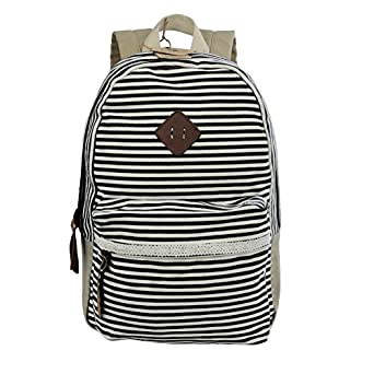 Koolertron Unisex Vintage Casual Daypack Fashion Pack Canvas Leather Travel Hiking Backpacks Campus School College Bookbag Rucksack Gym Shoulder Bag Portable Carry Case Bag for Sony Canon Nikon Olympus DSLR Ipad Google Nexus SamSung Galaxy Note 10.1 N8000 Microsoft Surface 10 Inch Tablet PC Xmas Gift for Teenage Girls/Boys(G-Grey)