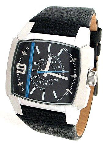 Diesel Men's DZ1131 Black Leather Watch
