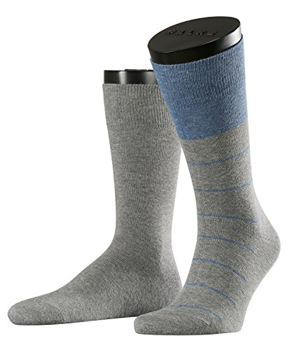 ESPRIT Rayure Doppelpack - Calcetines para hombre