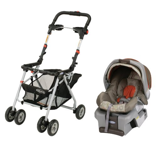 Graco SnugRider Frame & SnugRide Infant Car Seat Combo - Forecaster