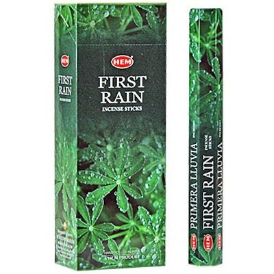 First Rain - Box of Six 20 Stick Tubes - HEM Incense