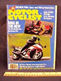 1986 86 January MOTORCYCLIST Magazine (Features: Honda Gold Wing Special Edition, Cagiva Elefant, & Harley Davidson FLH1100 Sportster)