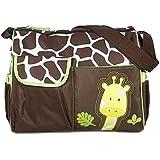 Sacs à Langer Sacs à Couches Multifonctionnel pour Maman - Motif de Girafe