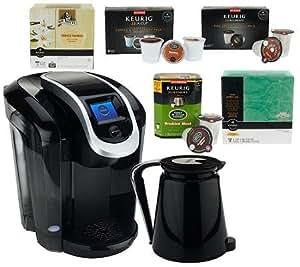 Keurig Coffee Maker Not Powering Up : Amazon.com: Keurig 2.0 K350 Coffee Maker w/ 42 K-Cup Packs, 12 K-Carafe Packs & Filters: Home ...