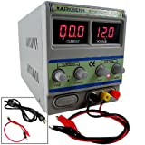 30V 10A 10AMP 110/220V Precision Variable DC Power Supply Pro Digital Adjustable