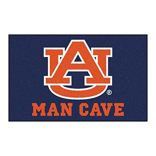 FANMATS 14531 Auburn University Nylon Universal Man Cave UltiMat Rug