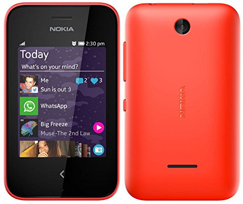 Nokia Asha 230 RM-987 Unlocked GSM Touchcreen Cell Phone - Black