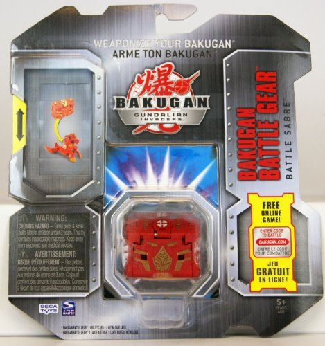 Bakugan Battle Gear - Battle Saber (Colors May Vary)