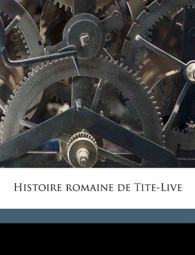 Histoire romaine de Tite-Live Volume 2