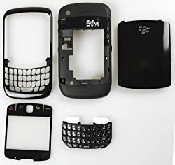 TOTTA Replacement Full Body Housing Panel For Blackberry Curve 9360- Black