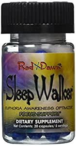 SleepWalker 20ct. Bottle - Sleep Walker - Euphoria, Energy, Mood Enhancement!