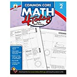 Search : Carson Dellosa Common Core 4 Today Workbook, Math, Grade 2, 96 Pages (CDP104591)