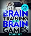 Brain Training And Brain Games for Memory Improvement: Concentration and Memory Improvement Strategies with Mind Mapping (New for 2015)