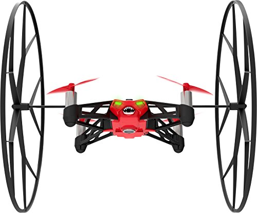 Parrot - MiniDrone Rolling Spider, color rojo (PF723002AA)