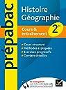 Prépabac cours & entraînement Histoire-géographie 2de