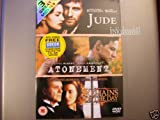 Jude / Atonement / The Remains of the Day [DVD]