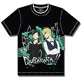 Durarara Izaya & Shizuo Glance T-Shirt Black