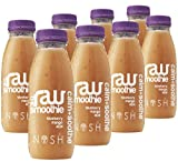 Nosh Detox 'The Raw Smoothie' - 8 x 250ml 'Calm & Soothe' Blueberry, Mango & Acai Sugar Free Smoothie Detox Drink to help weight loss