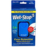 Wet-Stop3 Bedwetting Enuresis Alarm with Sound and Vibration - Blue