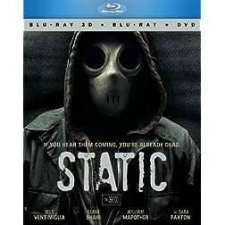 Static 3D BD+DVD Combo 3pk [Blu-ray]