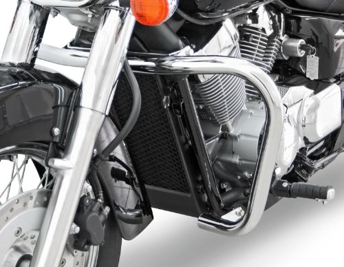 Pare Carter Fehling Honda Shadow 750 Black Spirit (VT C2B) 10-16 argent