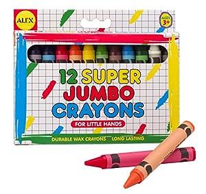 ALEX Toys - Artist Studio, Super Jumbo Crayons, 309