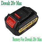 AKPower® Replacement Dewalt 20v Max Premium XR Lithium Li-ion Rechargeable Battery For Dewalt DCB180,DCB204-2,DCB205-2,DCB200-2,DCB200,DCB203,DCB205,DCD740, DCD740B, DCD780, DCD780B, DCD780C2, DCD780L2, DCD785C2, DCD785L2,DCB181, DCB200