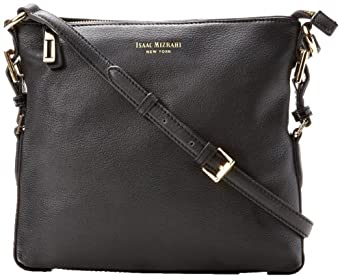 Isaac Mizrahi Evalyn IM92172 Cross Body Bag,Black,One Size