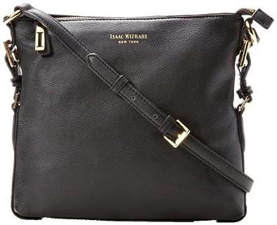 Isaac Mizrahi Evalyn IM92172 Cross Body Bag,Black,One Size
