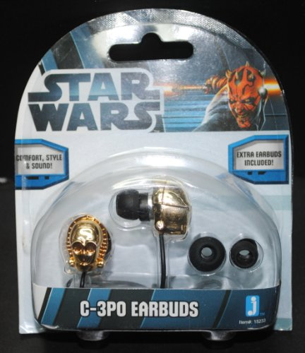 Star Wars C-3PO Earbuds - 1