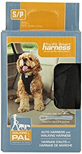 Kurgo Tru-Fit Smart Dog Harness, Small, Black