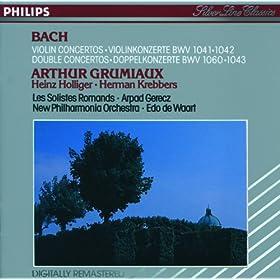 J.S. Bach: Concerto for Violin, Oboe, and Strings in D minor, BWV 1060 - 3. Allegro
