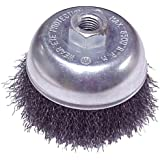 Mercer Abrasives 188020 Crimped Cup Brush For Right Angle Grinders