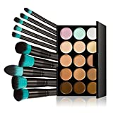 Tinksky-10-Makeup-Brushes-15-Colors-Concealer-Palette-Highlighting-Contour-Face-Cream-Makeup-Contouring-Kit