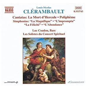 CLERAMBAULT:CANTATAS AND SIMPHONIAS