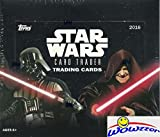 2016 Topps Star Wars Card Trader MASSIVE 24 Pack Factory Sealed HOBBY Box with 144 Cards! Look for Amazing Cards, Inserts, Parallels, Loot Cards & Actor Digital Autographs from all 7 Star Wars Movies!