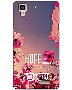 MobileGabbar Oppo R7 Back Cover Designer Hard Case
