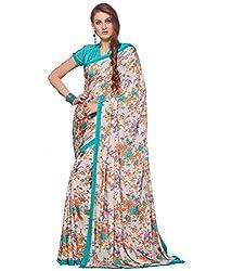 Pushkar Sarees Crepe Saree (Pushkar Sarees_85_Multi-Coloured)