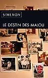 Le destin des Malou par Simenon
