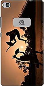DailyObjects Dangerous Dance Case For Huawei Ascend P8