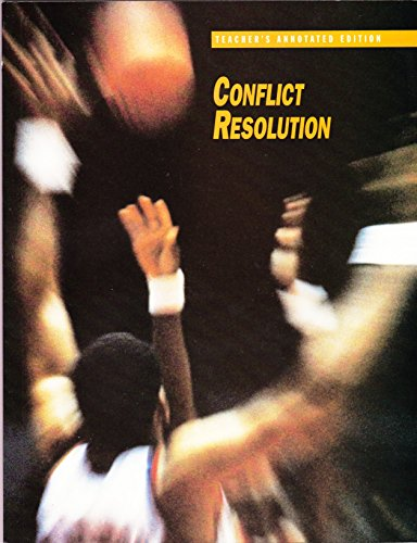 Conflict Resolution: Teacher's Annotated Edition PDF