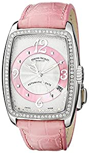 Armand Nicolet Women's 9631D-AS-P968RS0 TL7 Classic Automatic Stainless-Steel with Diamonds Watch