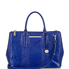 Lincoln Satchel<br>Sapphire Majestic