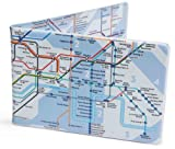 Blue Tube map Oyster card wallet