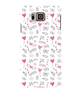 EPICCASE Lovely pattern Mobile Back Case Cover For Samsung Galaxy Alpha (Designer Case)