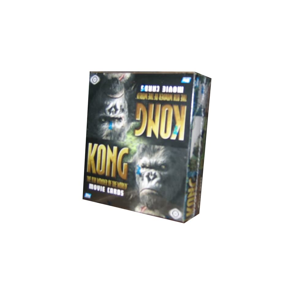 King Kong The Movie 8Th Wonder Of The World Trading Cards HOBBY Box   24P