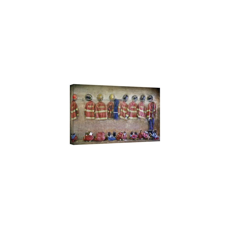 Antonio Raggios Auburn Fire Department, Gallery Wrapped Canvas 12X24